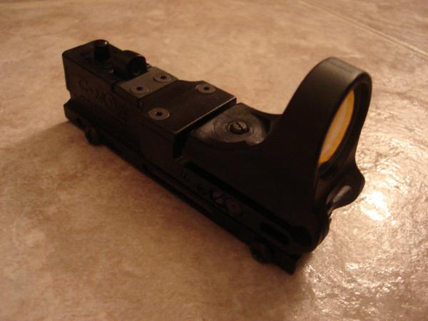 C-Moore Tactical Railway Red dot scope