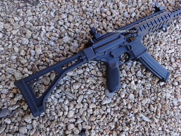 US Machinegun: *Sig Sauer MPX 9mm Rear Stock AR Adapter (Flat Mount