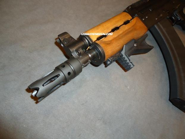 US Machinegun: Spiked, Ported, Muzzle Brake for AK-74 w/24M