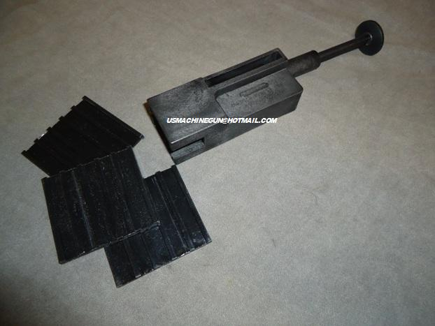 US Machinegun: Dupont Zytel speed loader for Tec 9,AB-10, KG99 and