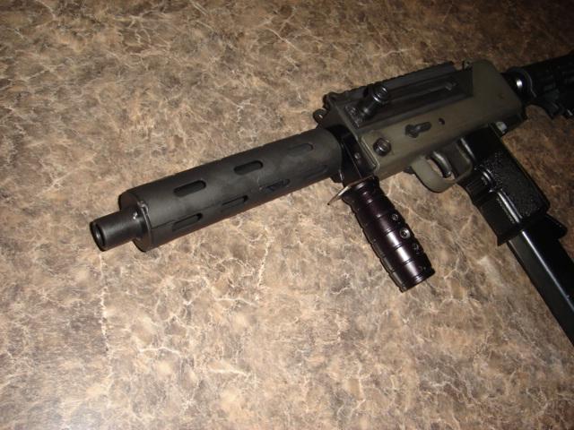 US Machinegun: Mac-10 .45 acp Notched Barrel, MAC-10 SMG/OPEN BOLT ...
