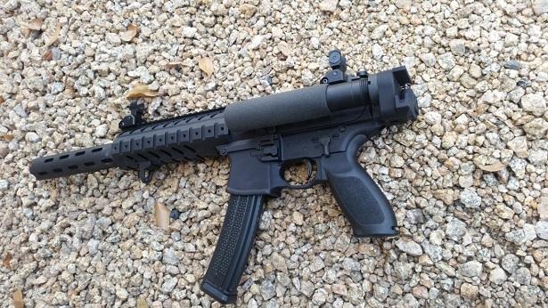 US Machinegun: *Sig Sauer MPX 9mm Rear Adapter (Flat Mount