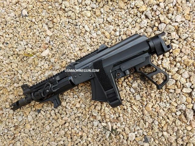 US Machinegun: *Rear Folding Adapter and SB Tactical A3 Adj