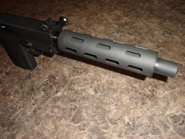 US Machinegun: Mac-10 & MPA  45 acp Vented Barrel extension